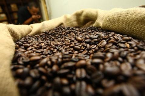 Bijih kopi siap olah. Harga melejit 1,26% - JIBI