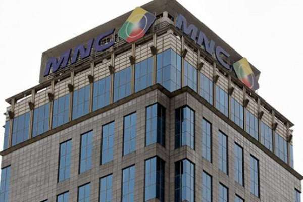 Gedung MNC Group.  MNC Investama  bagi dividen Rp3 per saham