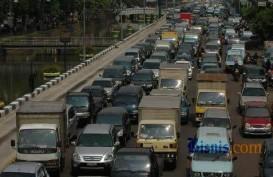 Truk BPBD Denpasar Terguling, Kemacetan Hingga 1 Km Menuju Sanur