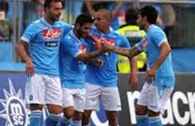 LIGA ITALIA: Bungkam Cagliari 3-0, Napoli Rebut Tiket ke Liga Champions