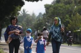 MERAPI WASPADA MELETUS: Warga Tiga Dusun di Sleman Yogya Siap Diungsikan