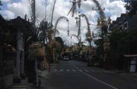 HARI RAYA GALUNGAN: Begini Suasana Jalanan di Denpasar, Bali