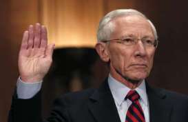 STANLEY FISCHER, Senat AS Restui Mantan Gubernur Bank Sentral Israel Jadi Dewan The FED