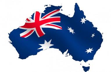 Ekspor & Konstruksi Kerek Pertumbuhan PDB Australia