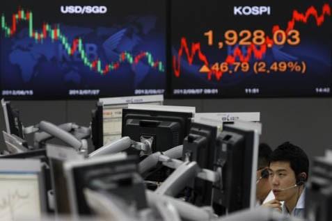 Bursa Korsel melemah - ibtimes.co.uk