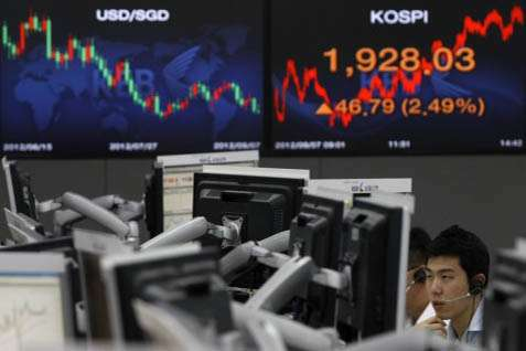 Bursa Korse menguat signifikan pagi inil - ibtimes.co.uk