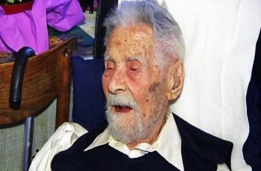 Pria Tertua di Dunia Meninggal Dalam Usia 111 Tahun