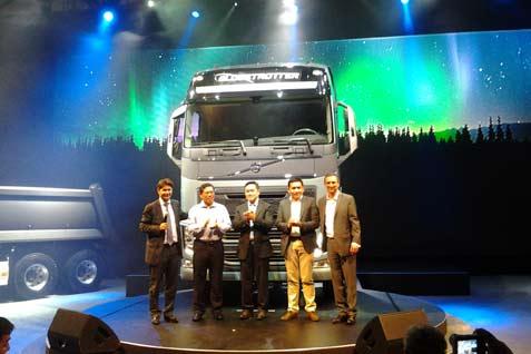 Peluncuran Truk Volvo  - bisnis.com
