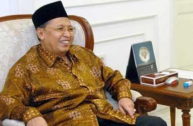 Hamzah Haz Besuk Bupati Bogor di Rutan KPK