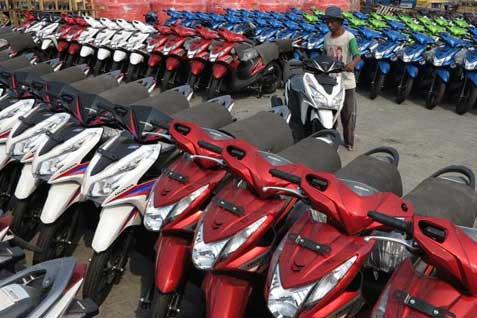 Produksi baru sepeda motor. Merek Honda paling banyak direkomendasikan konsumen - JIBI