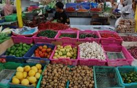 Dipantau Mendag, Harga Sembako di Pasar Klender Stabil