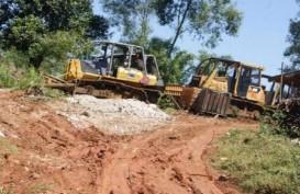 SENGKETA LAHAN: Rumah-Rumah Petani Karawang Dibuldoser