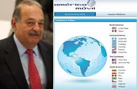 ORANG TERKAYA SEDUNIA: Carlos Slim Salip Bill Gates gara-gara Harga Saham America Movil (AMX) Meroket 10%