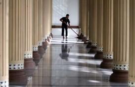 Pasca Salat Ied, Istiqlal 'Banjir' Sampah