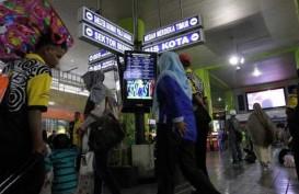 ARUS BALIK 2014: Penumpang dengan Kereta dari Semarang Terus Melonjak Hingga 10 Agustus