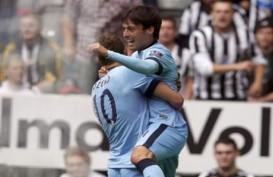 LIGA INGGRIS 2014: Manchester City Lumat Newcastle 2-0