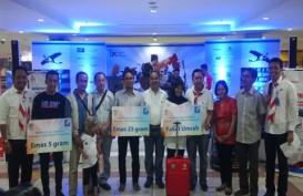 Terbaik di iB Vaganza Bekasi, BRISyariah Bagikan Hadiah Pemenang Program Hujan Emas