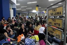 Pentas Dangdut Hibur Ribuan Buruh Migran di Hong Kong