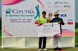 James Byrne Cetak Kemenangan di Ciputra Golfpreneur Tournament
