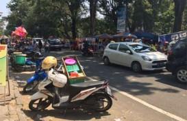 KEJUARAAN TERJUN PAYUNG: Sunday Market Libur, Pedagang Solo Tumpah ke Jalan