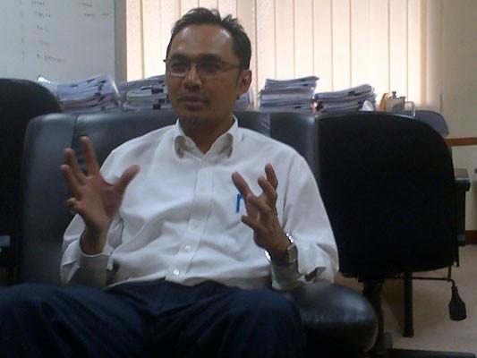 Direktur Keuangan & SDM PLN Batubara, Toharudin/Bisniscom - yusran yunus