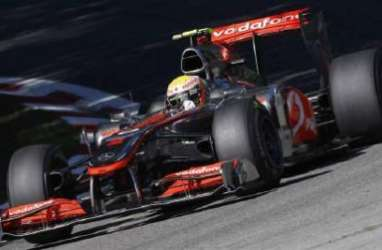 GRAND PRIX FORMULA 1: Lewis Hamilton Juara di Sirkuit Monza