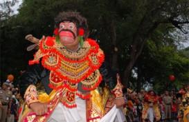 DENPASAR FESTIVAL 2014: 1.000 Karakter Topeng Tradisional Siap Tampil