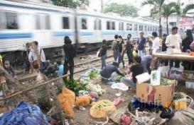 Akses Menuju Stasiun Kereta Api di Tangsel Diperbaiki