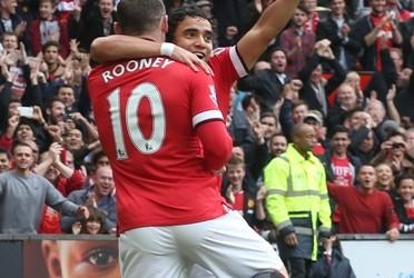LIGA INGGRIS: Bersama Van Persie Cetak Gol, Rooney Diganjar Kartu Merah. Manchester United VS West Ham 2-1