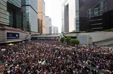 Demo Hong Kong: China Blokir Instagram