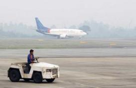 PESAWAT GARUDA Batal Mendarat di Bandara Cilik Riwut