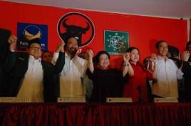Koalisi PDIP Kumpul di Rumah Megawati, Bahas Kondisi…