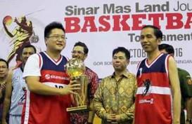 Jokowi Buka Ajang Bola Basket Wartawan yang Digelar Sinar Mas Land