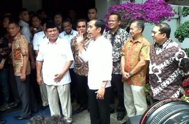KOMUNIKASI POLITIK ELIT: Jokowi Dipuji, Prabowo-Hatta Diacungi Jempol