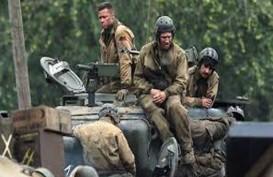Box Office : Film Brad Pitt 'Fury' Geser Gone Girl