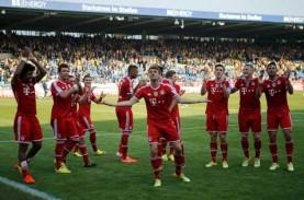 LIGA JERMAN: Bayern Menang 7 Angka di Puncak Klasemen