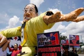 Rumah Aquino Jadi Sasaran Vandalisme