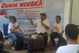 FESTIVAL PEMBACA INDONESIA: Hadirkan Penulis Ternama