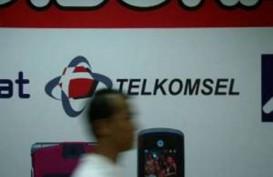 LAYANAN 4G-LTE: Telkomsel Salip Dua Operator Lain