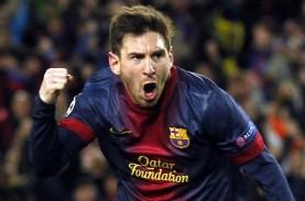 LIGA CHAMPIONS 2014: Messi Cetak Rekor 75 Gol & Daftar…