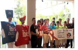 Hotel Ibis Di Bali Gelar World Aids Day 2014
