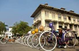 Sewa Sepeda Ontel di Kota Tua Kian Diminati