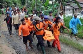LONGSOR BANJARNEGARA: 11 Orang Tewas, 105 Rumah Tertimbun & 97 Orang Belum Diketahui