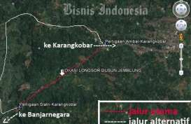LONGSOR BANJARNEGARA: Jalur alternatif Slatri-Pagerpelah-Ambal 8 Kilometer Ditempuh 2 Jam