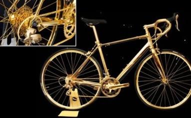 Inilah Sepeda Berlapis Emas 24 Karat Seharga Rp3 Miliar