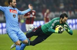 HASIL LENGKAP LIGA ITALIA: Sikat Napoli 2-0, Milan Terobos Papan Atas