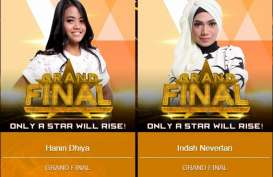 GRAND FINAL RISING STAR INDONESIA: Yang Juara Hanin Dhiya atau Indah Nevertari