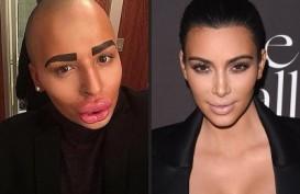 Inilah Foto-foto Cowok Mirip Kim Kardashian