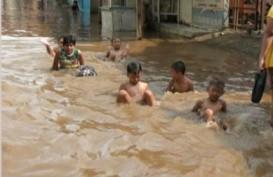 JAKARTA BANJIR: Kampung Melayu Kecil, Air Setinggi 150 Cm