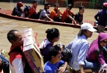 BANJIR BANDUNG: Aher Desak Kementerian PU Segera Tangani Banjir